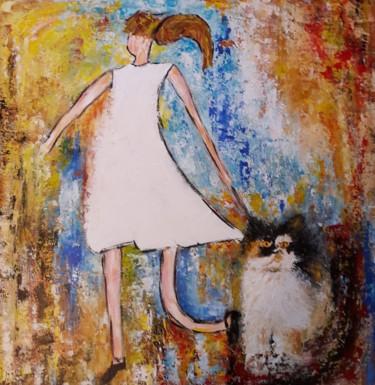 La petite fille au chat