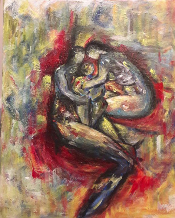 C.B.GUERRY - Le Couple et l'Enfant